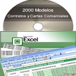 Pack soluciones Excel y 2000 contratos y cartas comerciales