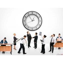 Turnos de personal, cuadrantes, gestión de proyectos, dedicación de personal