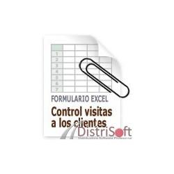 Control visitas vendedores en Excel