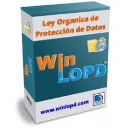 WinLOPD + Curso Interactivo + Tele-implantación + Mantenimiento + Soporte jurídico (con trabajadores)