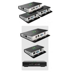 NCOMPUTING MODELO M-300 Kit de Thin Client 3 en 1 para escritorios virtuales